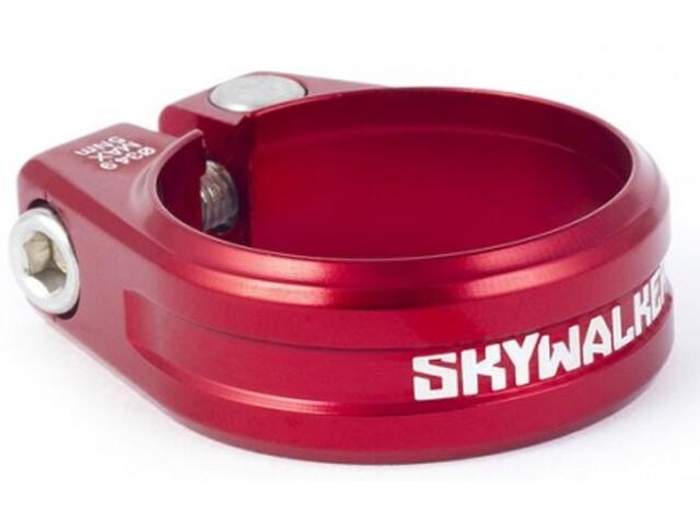 Sixpack Skywalker Sattelklemme Ø34,9mm rot